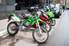 Motocykl w Moskwa, 15 07 17 Zdjęcie Stock