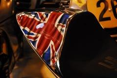 Motocykl Żywy Obrazy Royalty Free