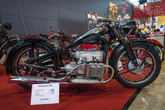 Motocykl Zuendapp K800, 1936 Fotografia Royalty Free