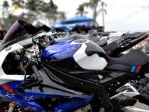 Motocykle przy motocyklu przedstawieniem przy Koh Chang Fotografia Stock