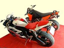 Motocykle w biurze Obraz Stock