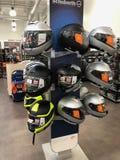 Motocykli/lów hełmy zdjęcie stock