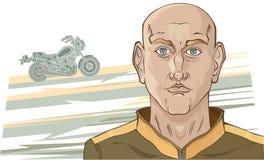 motocyklista Zdjęcia Royalty Free