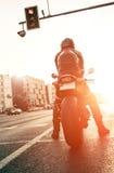 Motocyklista zdjęcia stock