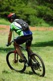 motocyklista góry Obrazy Stock