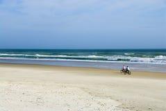 motocyklista surf Zdjęcie Royalty Free