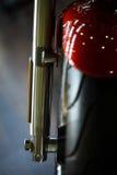 Motocyklu frontowy zawieszenie fotografia stock