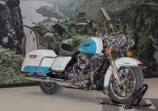 Motocyklu Harley Davidson Krajoznawczy Drogowy królewiątko na zawody międzynarodowi F Obraz Royalty Free