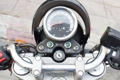 motocyklu klasyczny szybkościomierz Fotografia Royalty Free
