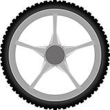 Motocyklu koło Zdjęcia Stock