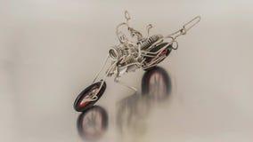 Motocyklu metal Zdjęcia Royalty Free