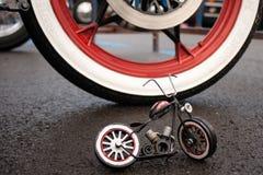 Motocyklu model zdjęcia royalty free