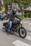 Motocyklu przedstawienie w Palamos w Hiszpania 27 05 2018 Hiszpania Fotografia Royalty Free