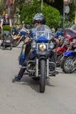 Motocyklu przedstawienie w Palamos w Hiszpania 27 05 2018 Hiszpania Zdjęcie Royalty Free