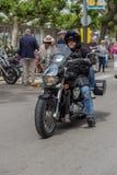 Motocyklu przedstawienie w Palamos w Hiszpania 27 05 2018 Hiszpania Obraz Royalty Free