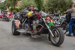Motocyklu przedstawienie w Palamos w Hiszpania 27 05 2018 Hiszpania Zdjęcia Royalty Free
