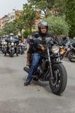 Motocyklu przedstawienie w Palamos w Hiszpania 27 05 2018 Hiszpania Fotografia Stock