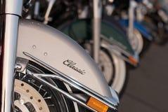 motocyklu rząd Fotografia Royalty Free