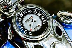 motocyklu s szybkościomierza rocznik fotografia royalty free