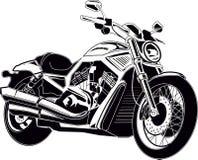 Motocyklu siekacz ilustracji