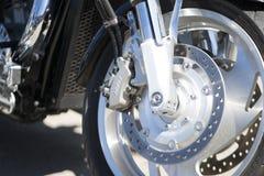 Motocyklu silnik chrom Harley Davidson fotografia stock