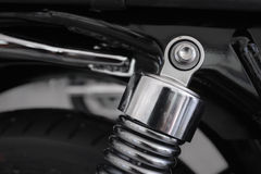 Motocyklu szoka tylni absorber Zdjęcia Stock