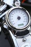 Motocyklu szybkościomierza bord Fotografia Stock