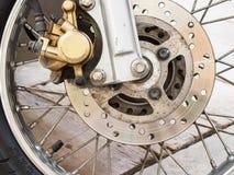 Motocyklu talerzowy hamulec Zdjęcia Royalty Free