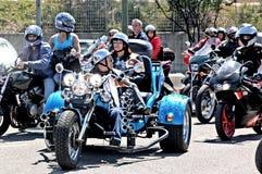 Motocyklu wiec Fotografia Royalty Free