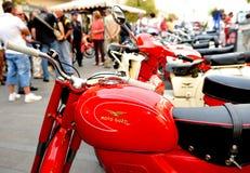 Motocyklu wiecu gatunek Moto Guzzi Obraz Royalty Free