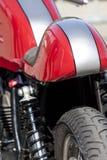 Motocyklu zbliżenie Obrazy Stock