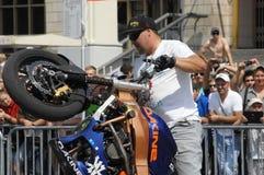 Motofreestile FMX place stock photo