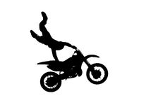 Motofreestyle Imagens de Stock Royalty Free