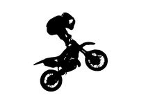 Motofreestyle Photographie stock