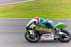 MotoGP的125cc的尼科Terol飞行员 库存图片