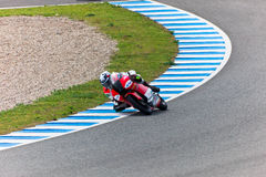 MotoGP的125cc的米格尔奥利维拉飞行员 免版税库存图片