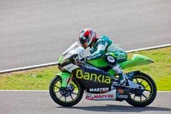 MotoGP的125cc的赫克托耳Faubel飞行员 库存图片