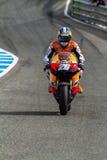 MotoGP的Dani Pedrosa飞行员 图库摄影