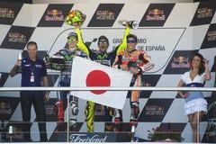 MotoGP Ισπανία, σε Jerez Στοκ εικόνα με δικαίωμα ελεύθερης χρήσης