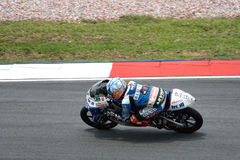 Motogp 125cc - Efren Vazquez Royalty Free Stock Photo