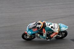 Motogp 125cc - Hugo Van Den Berg Royalty Free Stock Photos