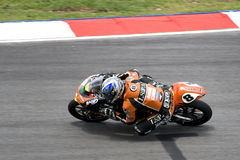 Motogp 125cc - Lorenzo Zanetti fotografia stock