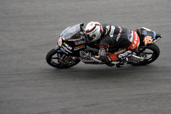 Motogp 125cc - Nicolas Terol Royalty Free Stock Photography