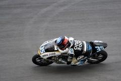 Motogp 125cc - Raffaele de Rosa Royalty Free Stock Image