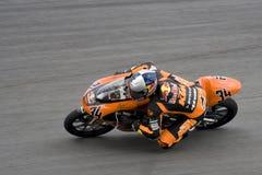 Motogp 125cc - Randy Krummenacher Royalty Free Stock Images
