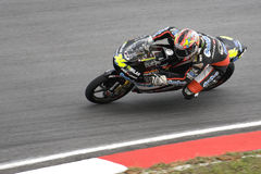 Motogp 125cc - Simone Corsi Royalty Free Stock Photos