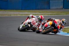 MotoGP 2011 von Japan Lizenzfreie Stockfotos