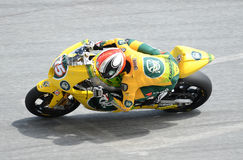 MotoGP 250cc rider Stock Photography