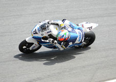 MotoGP 250cc rider Royalty Free Stock Images