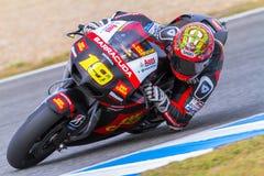 MotoGP Alvaro pilot Bautista Zdjęcia Stock
